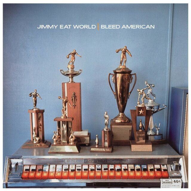 JIMMY EAT WORLD - BLEED AMERICAN (LP)  VINYL LP NEU