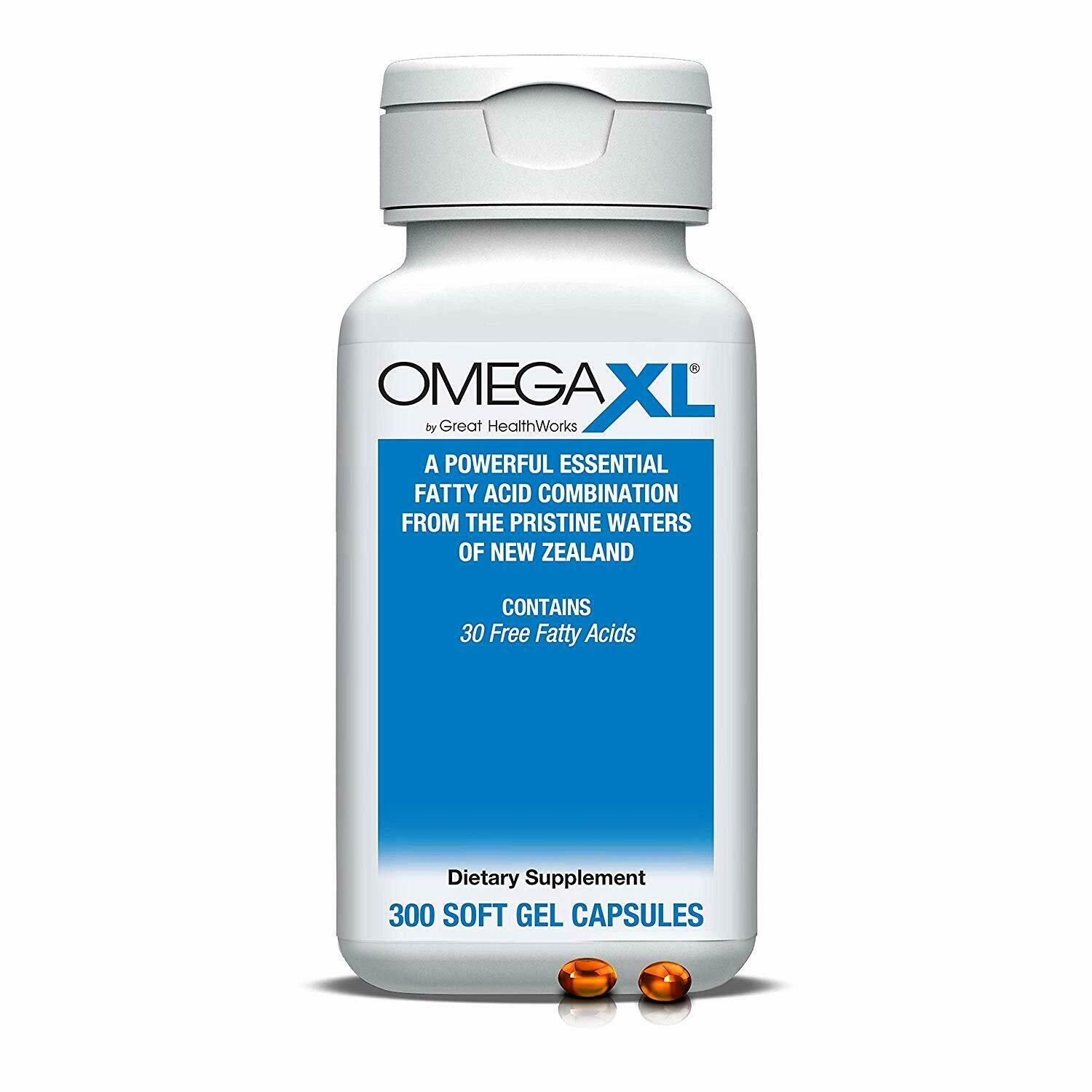 Omega XL 300 Capsules - Green Lipped Mussel New Zealand Omega 3