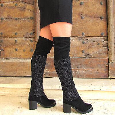 BRACCIALINI Stivali alti sopra il ginocchio neri 36 37 38 40 41 €130