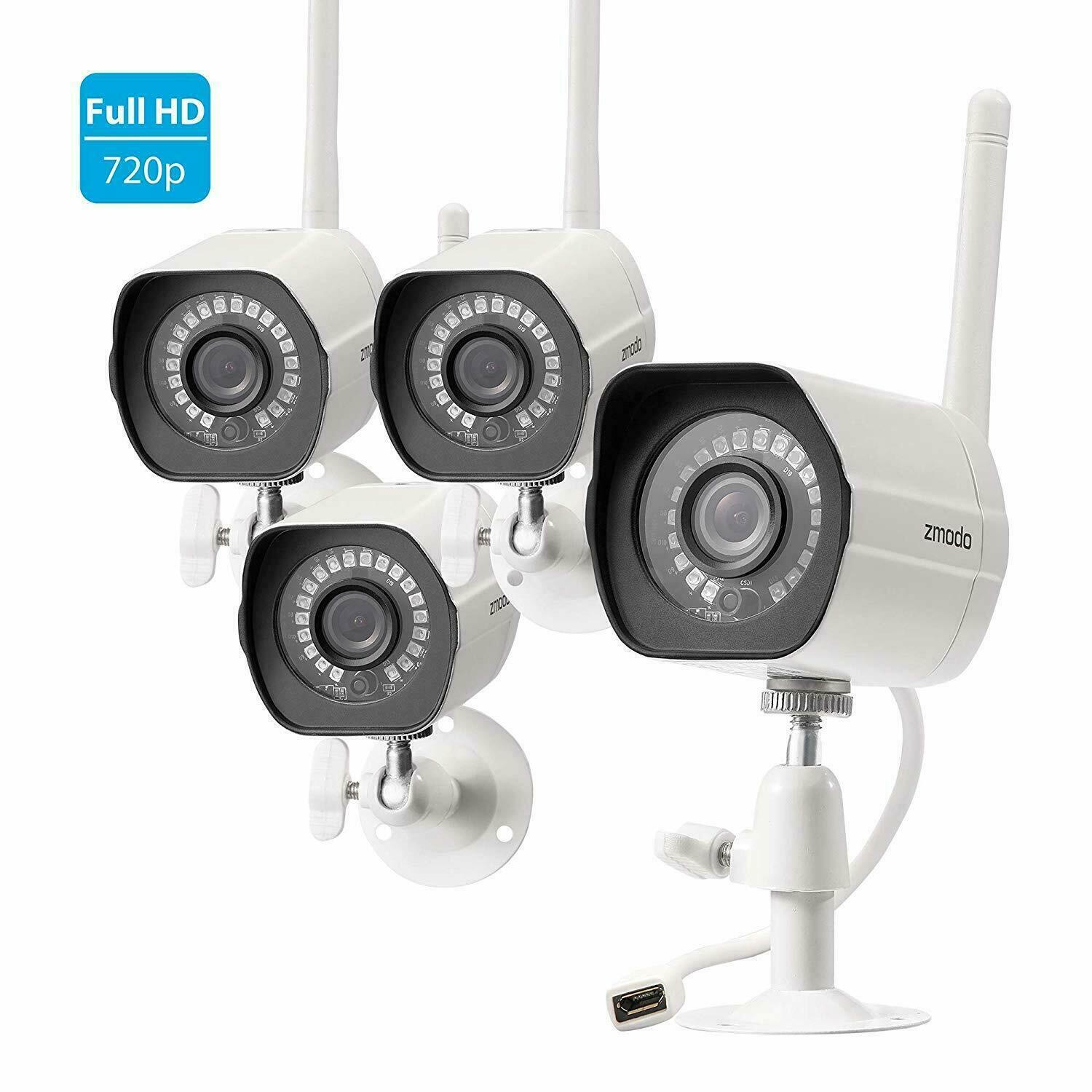 Zmodo HD 720P Home Surveillance Outdoor Wireless Security Ca