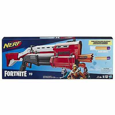 NERF FORTNITE TS-1 Pump Action Mega Blaster, E6159 Toy Shotgun Epic