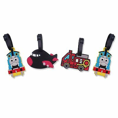 Finex Set of 4 Thomas The Train & Airplane Fire Truck Travel
