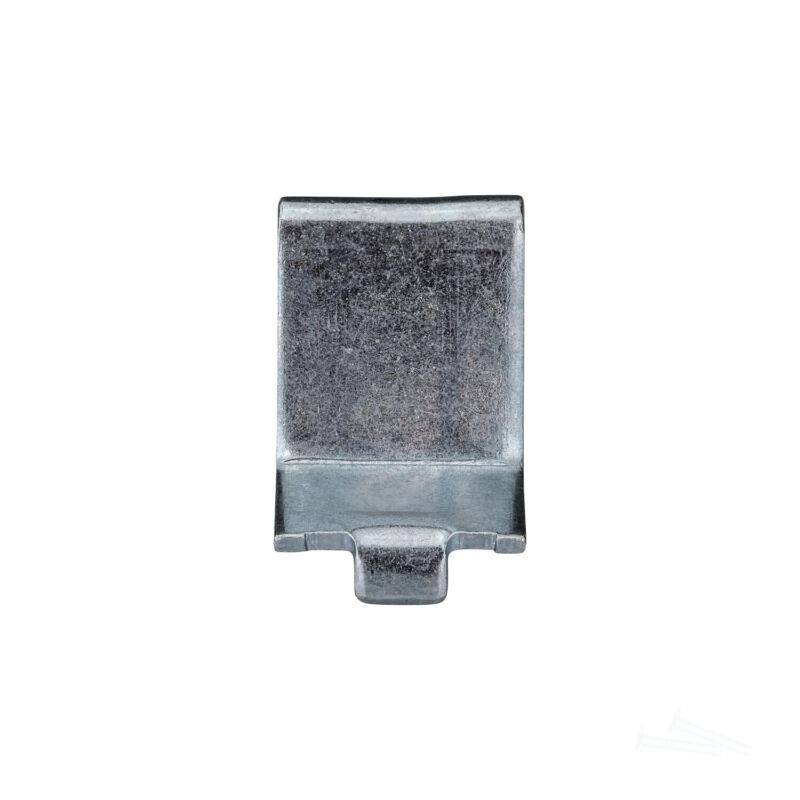 Knape & Vogt Adjustable Steel Pilaster Shelf Support Clip, Zinc 256 ZC