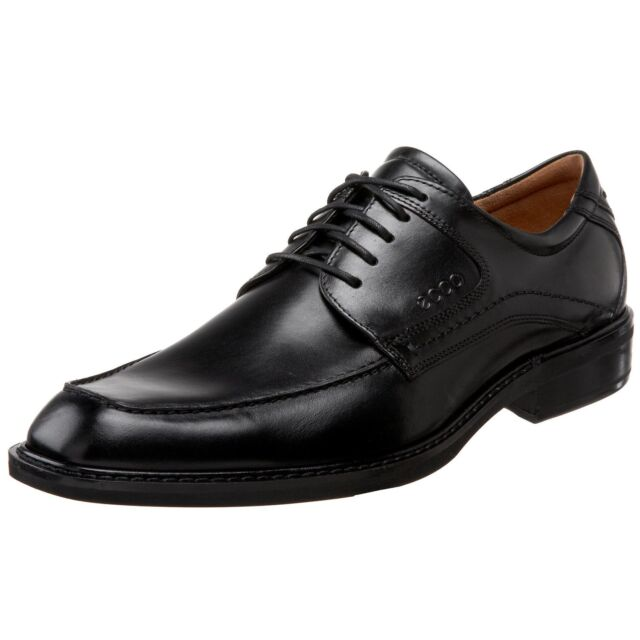 ECCO Men's 51814 Windsor Black Leather Lace Up Oxford