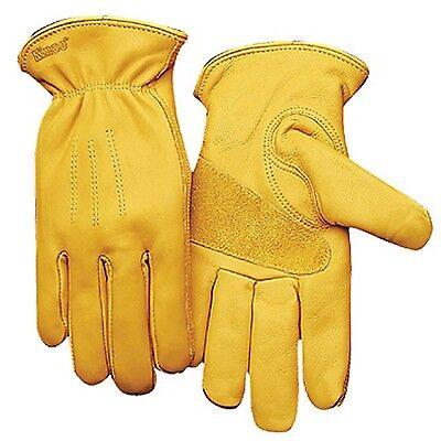 Grain Pigskin Gloves Kinco Gloves 1917KW Golden