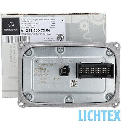 Mercedes-Benz A2189007306 VOLL LED Scheinwerfer Steuergerät Spannungswandler
