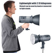 Neewer 300w Vision 4 Li-ion Battery Powered Outdoor Studio Flash Strobe Kit
