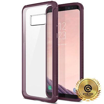 (OBLIQ® Galaxy S8 / S8 PLUS [Naked Shield] CLEAR Case Slim Anti-Shock Bumper S+)