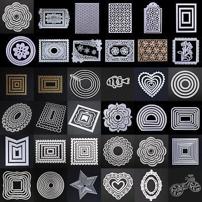 DIY Metal Cutting Dies Stencil Album Paper Cards Embossing Scrapbooking  - Paper Embossing
