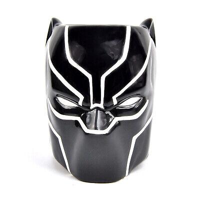 anther Maske 3D Kaffeetasse Marvel Black Panther 3D Film  (Becher Maske)