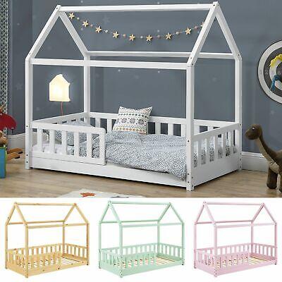 Kinderbett Rausfallschutz Bett Haus Skandinavisches Design Lattenrost ArtLife®