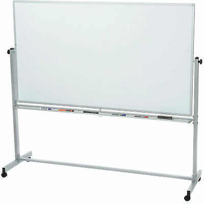 Magnetic Dry Erase Whiteboard Rolling Double Sided Reversible - 48 X 36