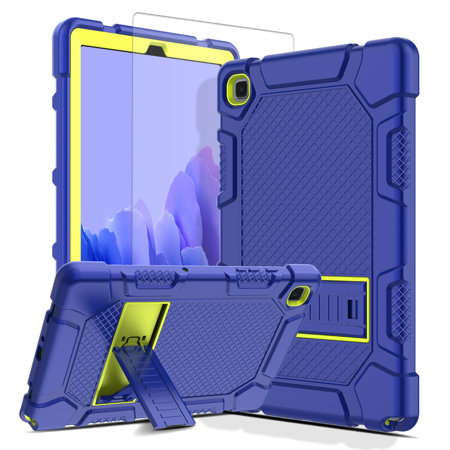 """For Samsung Galaxy Tab A7 10.4"""" 2020 Tablet Case Stand Cover+Screen Protector Cases, Covers, Keyboard Folios"""
