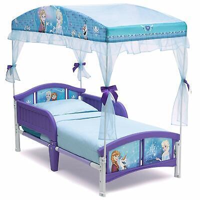 Delta Children Canopy Toddler Bed, Disney Frozen Canopy Toddler Bed