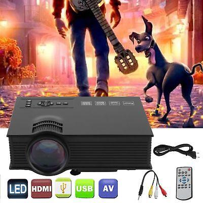 1080P LED Vidéo Projecteur Home Cinéma DTV/HDMI/ VGA Multimedia Rétroprojecteur