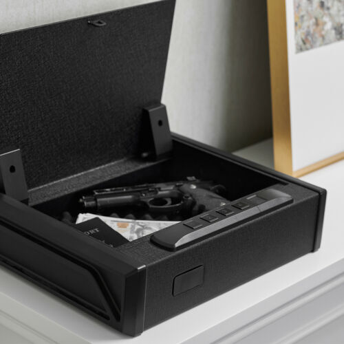 RPNB Gun Security Safe Quick-Access Safety RFID, Open Box