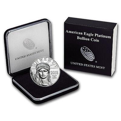 2018 1 oz Platinum American Eagle BU (w/U.S. Mint Box) - SKU#152919