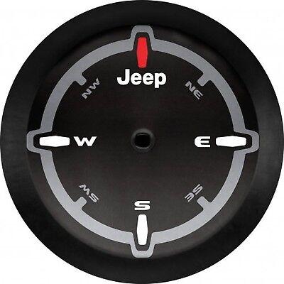 Mopar 82215446 Jeep Wrangler Compass Logo Cloth Spare Tire Cover
