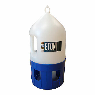 Eton Dome Fountain Drinker + Ring & handle - pigeons, poultry etc 5 litre