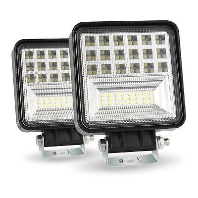 400W 6000K LED Work Light Bar Flood Spot Beam Offroad 4WD SUV Driving Fog Lamp