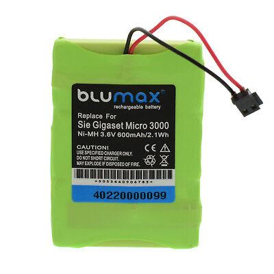 Akku für Siemens Gigaset 3000 L 3010 3015 3020 Micro T-Sinus 45M |40220| 600mAh