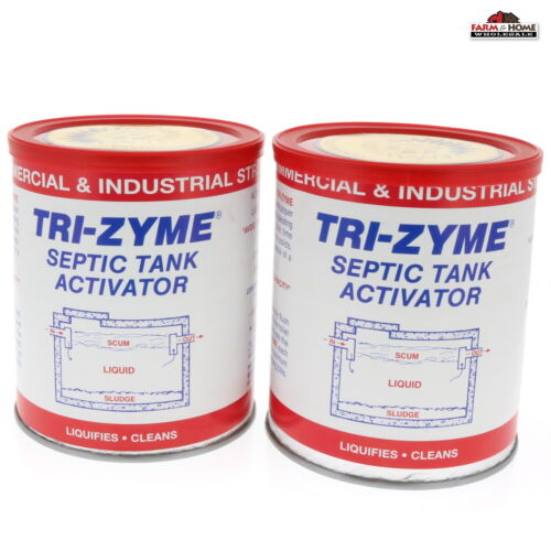 Septic Tank Treatment Activator ~ 2 Pack ~ New
