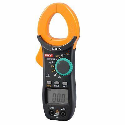 Clamp Auto Digital Ranging Meter Ac Multimeter Klein Dc Tools 600a Amp Voltage