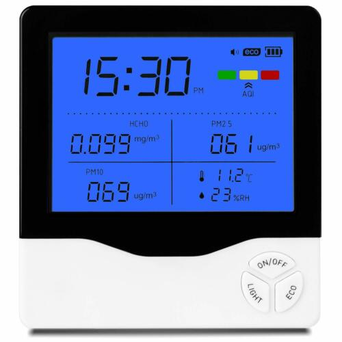 Air Quality Monitor - Professional Air Quality Detector, 7in1 Indoor Tester