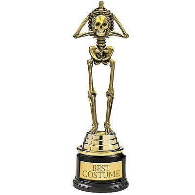 Pokal Karneval Skelett  /// Best Costume /// Preis für Halloween Kostüm neu GAG (Skelett Für Halloween)