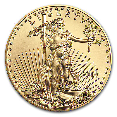 2014 1/2 oz Gold American Eagle Coin – Brilliant Uncirculated – SKU #79036