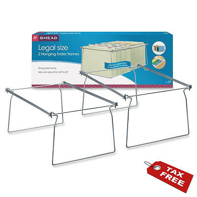 2 Per Pack Cabinet Drawer Organizer File Folder Holder Hanging Stand Heavy Rail