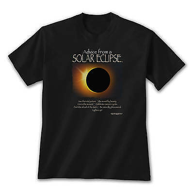 Advice From A Solar Eclipse T Shirt Totality Phenomenal Nature Event 2017