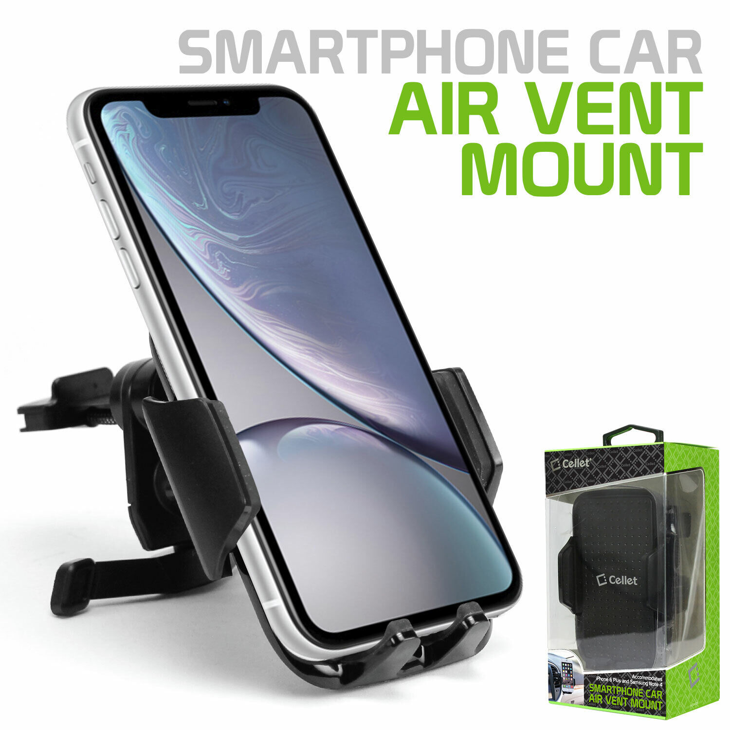 Cellet Air Vent Phone Holder Mount, Universal Cell Phone Car