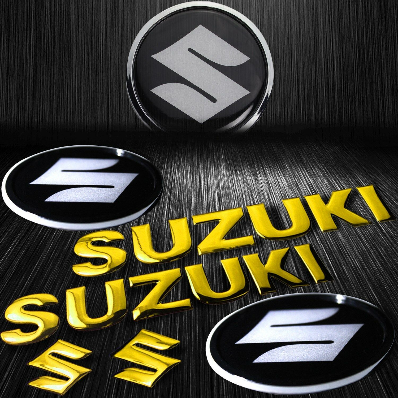 GRAND VITARA Black//chrome 3D Emblem Badge Letter logo car truck