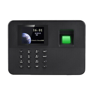 Biometric 2.4lcd Attendance Machine Fingerprint Password Time Clock Reader R5x4