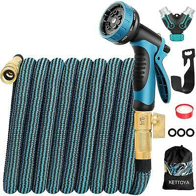 KETTOYA 2020 Upgrade 100FT Expandable Garden Hose Water Hose with 10-Function