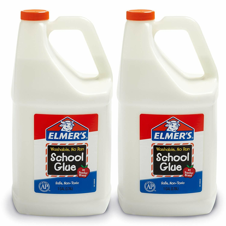 elmers liquid school glue white washable 1