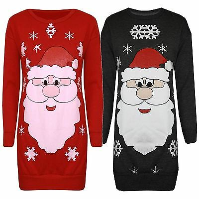 t Hat Weihnachten Pullover-Warme Vlies-Damen-Sweatshirt-Tops (Weihnachten Top Hats)