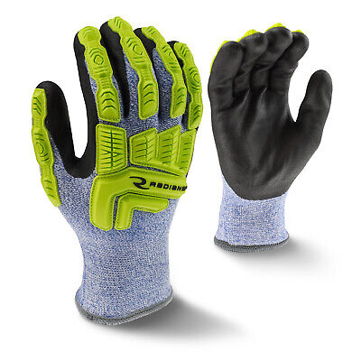 Radians Rwg604 Insulated Ansi A4 Cut Resistant Tpr Impact Gloves M-2xl