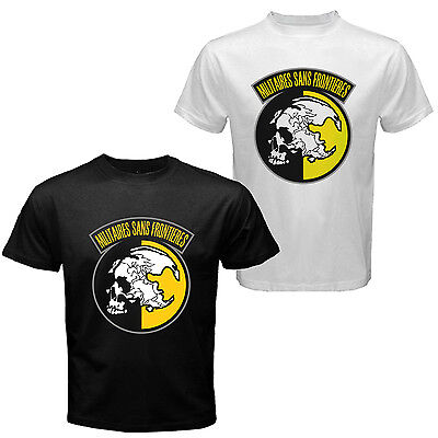 The Metal Gear Solid Snake Peace Walker MSF Militaires Sans Frontières T-shirt