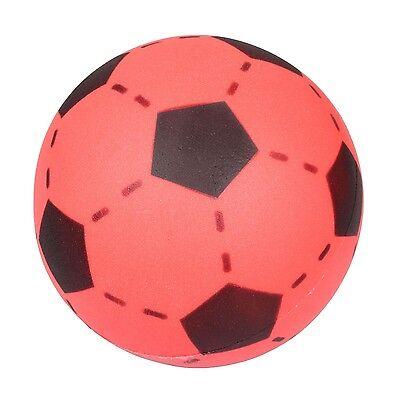 Simon SOFTBALL Schaumstoff Ball Fußball Softfußball Größe 20cm rot