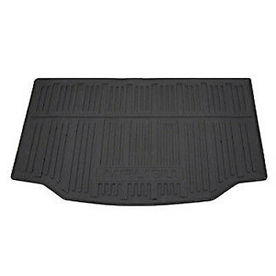 - All Weather Cargo Trunk Mat Black With Logo Fits GM Chevy Malibu 2013-2016