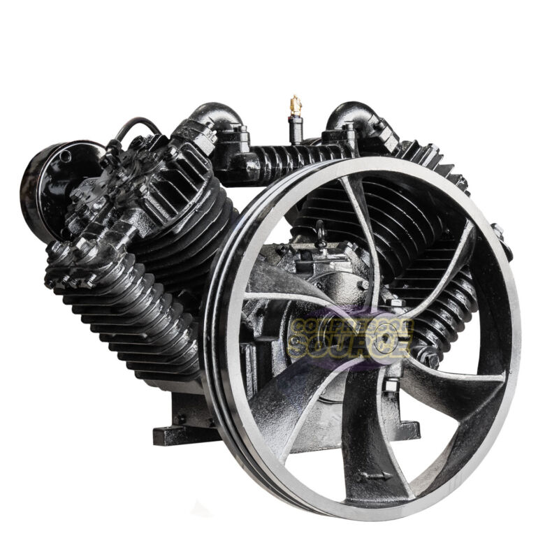 10 HP Horsepower Cast Iron 2 Stage Air Compressor Pump Industrial Two-Stage CI10