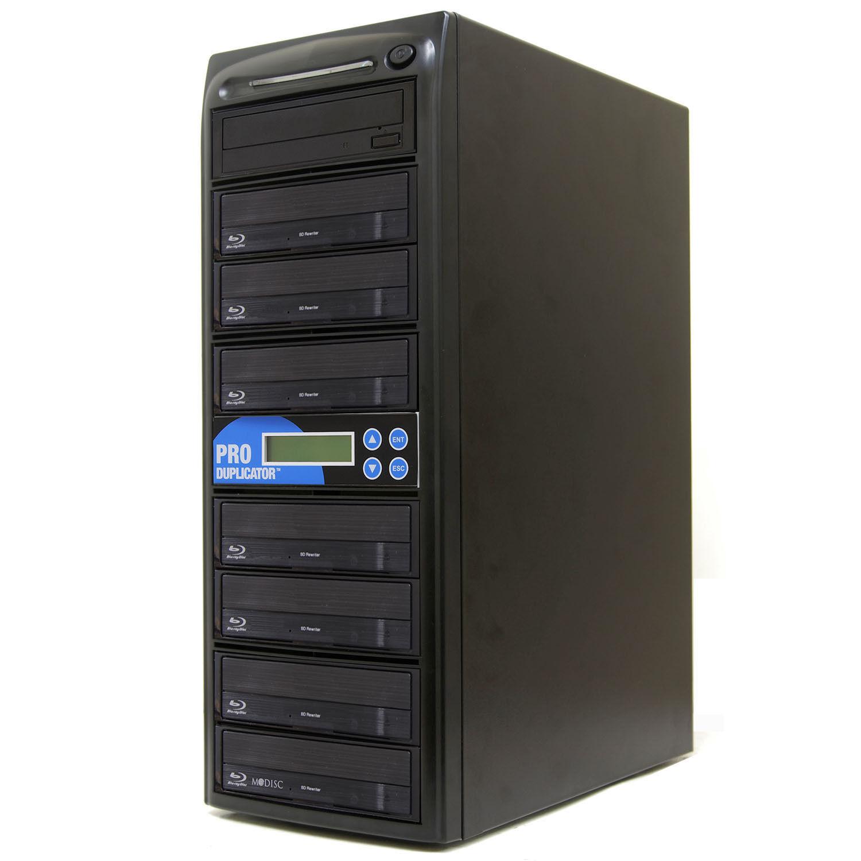 Produplicator 1 to 7 Blu-ray BD BDXL M-Disc CD DVD Duplicato