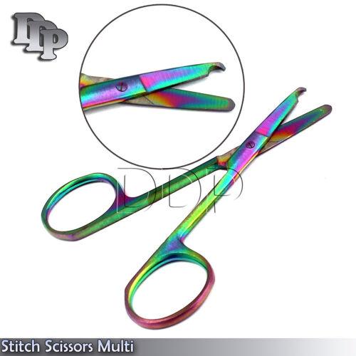 Suture Scissors Multi/Rainbow Suture Removal Scissors Surgical Instruments