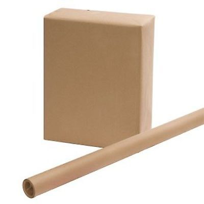 "2 ROLLS - Brown Kraft Wrapping Paper 30"" x 15 Feet x 2"