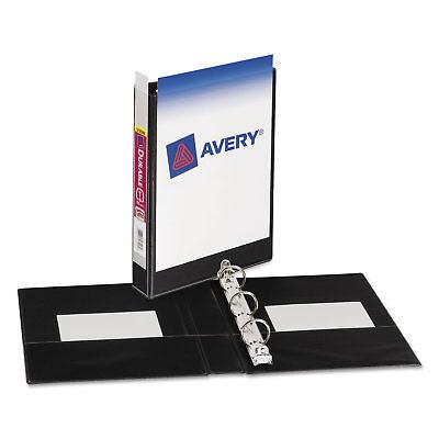 Avery Mini Size Durable View Binder Wround Rings 8 12 X 5 12 1 Cap Black