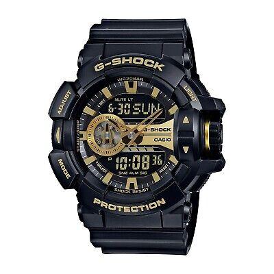 Casio G-Shock GA400GB-1A9 Gold Accented Black / Black Resin