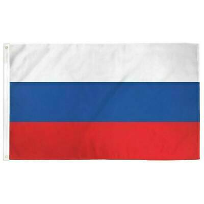 Russia FLAG 3×5 FT National Country Banner Polyester With Grommets RUSSIAN NEW Décor