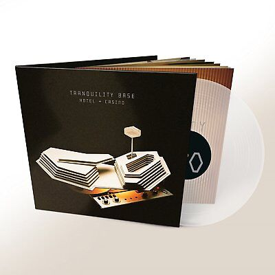 ARCTIC MONKEYS TRANQUILITY BASE HOTEL + CASINO CLEAR VINYL LP (2018)